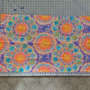FABRIC 46x23 Lilly Pulitzer written in the sun